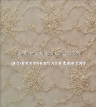 2018 wedding lace fabric for wedding dress