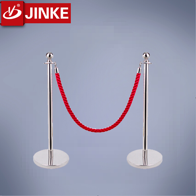 Golden Top Crowd Control Stanchions,Stainless Steel Used Road Remote Barrier,Rope Poles