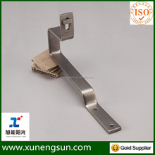 solar pv metal roof mounted racking system bracket without rails mounting system for metal roof