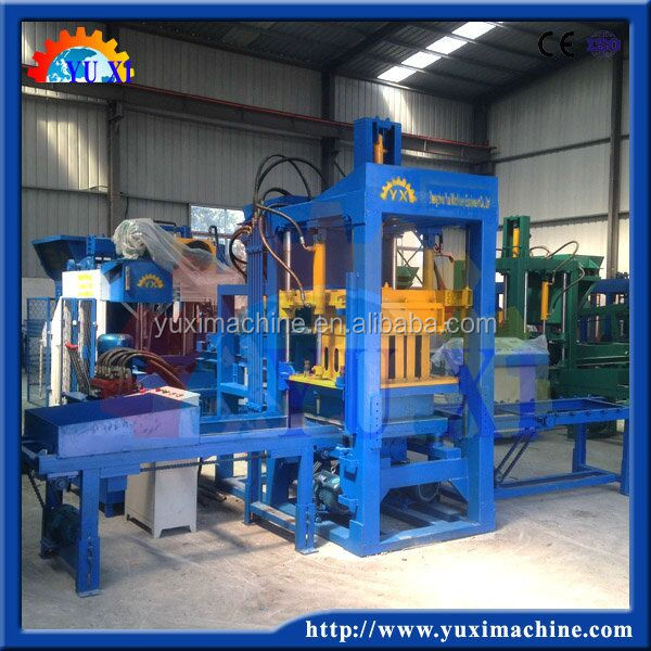 Product import to South Africa Yuxi cement paver blocks hydraform interlocking block making machine