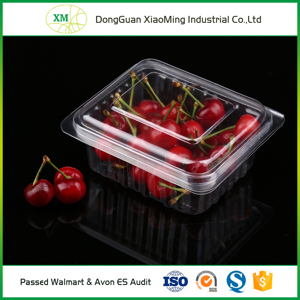 Eco-Friendly disposable containers transparent blister plastic PP fruit/food tray, Walmart supplier wholesale