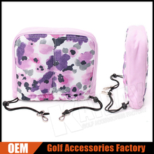OEM Pink Flower Ladies Golf Club Iron Head Covers