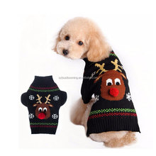 2017 Hot New Product Autumn Winter Christmas Warm Chistmas Dog Coat China Supplier
