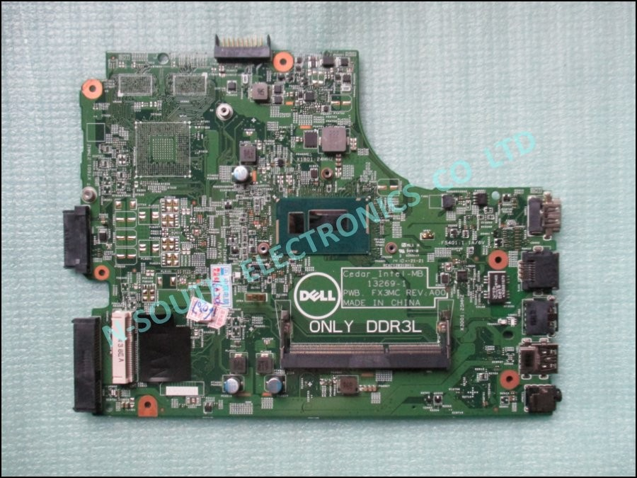 wholesale price motherboard for dell inspiron 15 3542 intel i3 gjc23