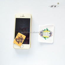 Mini Self Adhesive Mobile Cell Phone Sticky Screen Cleaner for Promotion