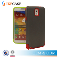 Hot Selling TPU+PC Combo Armor Mobile Accessories Case For Samsung Galaxy Note 3