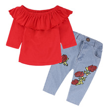 2018 baby clothes online shopping for kids wear China suppliers children's clothing stores girls wear little girls clothes