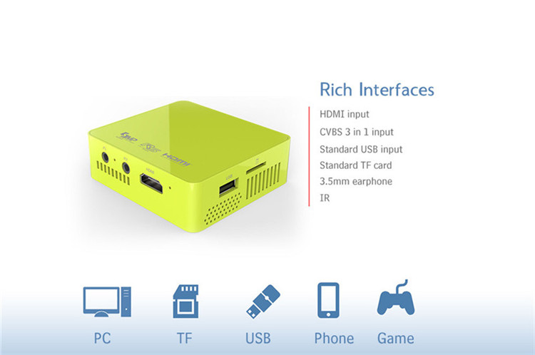 UNIC High quality mini style projector