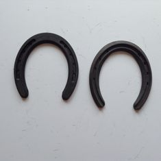 Durable Metal Iron Horse Shoes Tournament Horseshoes 123*123*8mm