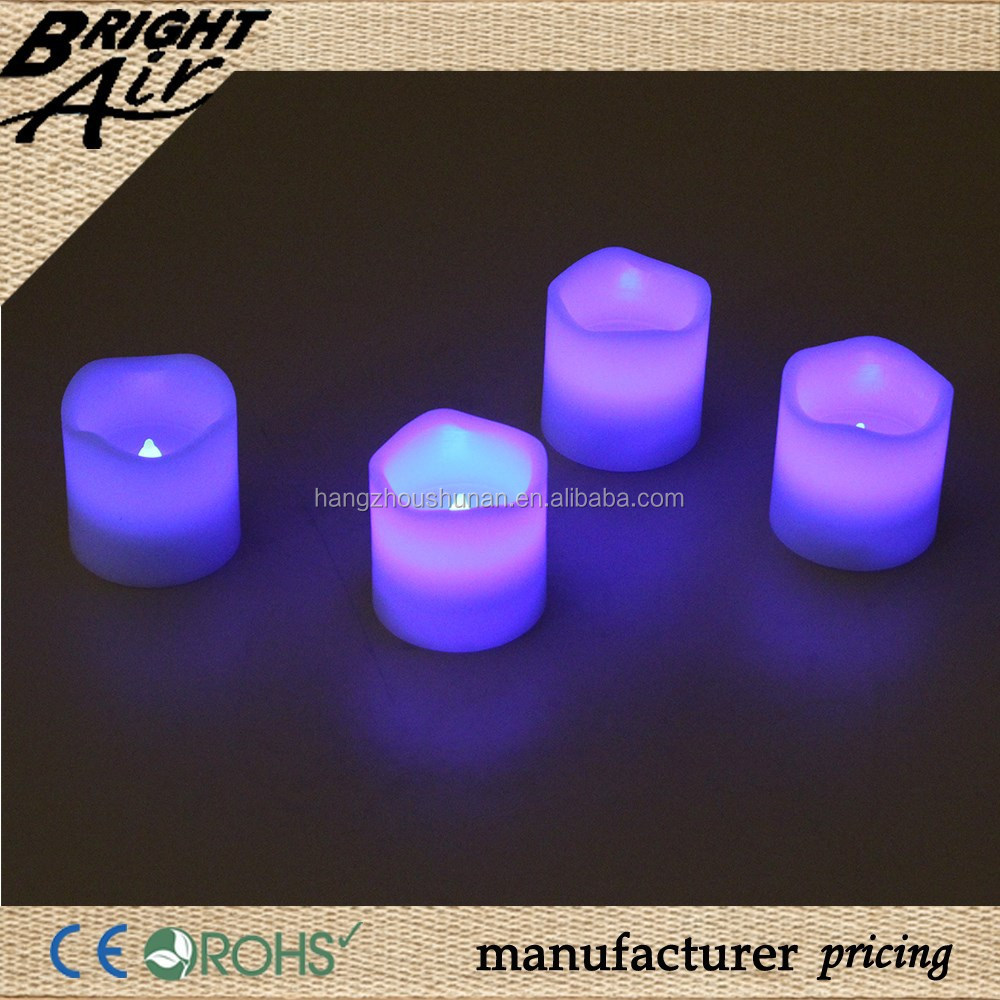 Decorative LED aroma candles for sex body massage (4pc/set )