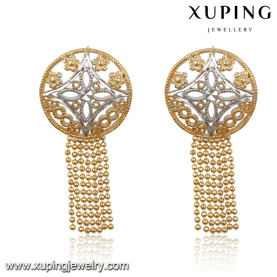 Newest  NO Stone Daily Wear Fancy Drop Earrings For Women