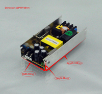 Small Size AC-DC Single Output 36V 120W Open Frame Power Supply/Led Driver For 3D Printer