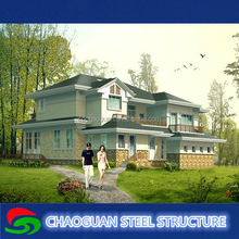 Environmental and fireproof best selling prefabricated villa,nice and beautiful design modern villa home