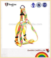 With OEM/ODM available soft color chain dog harness for wholesale pet products