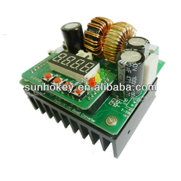 XD-24 400W Digital DC-DC Voltage Boost Regulation Module Digital Control & Display