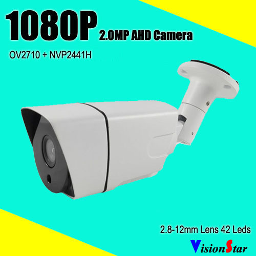 VisionStar high quality surveillance video bullet camera 2000tvl day night for analog 1080p cctv system