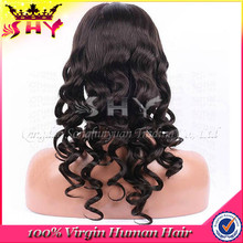 2015 beauty fashion virgin brazilian human wavy hair u part wigs cap