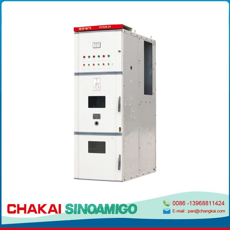 China's fastest growing factory best quality KYN28-24 Indoor Metal-clad Enclosed Switchgear cable distribution box