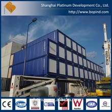Best price of wood cladding container homes