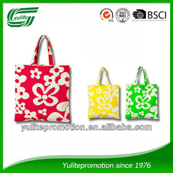 Full color Printed Canvas tote bag