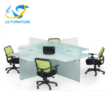 latest office desk partition glass low partitions factory sell directly
