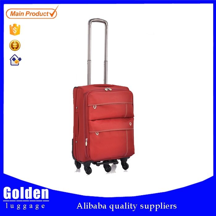 2016 new products trolley trip suitcase classical comfortable hand luggage wholesaler