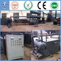 Xinda equipment pyrolysis scrap waste tire and plastic plant whose buyers can get fuel oil