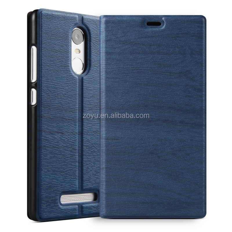 Leather Texture Ultra thin diary cell phone case for xiaomi note