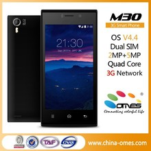 Fully unlocked M30 4.5 inch QHD IPS Quad Core Dual Sim free 1GB Ram Android 4.4 factory cell phone wholesale