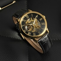 2016 Forsining saat man hour clock custom watches mechanical men luxury brand automatic