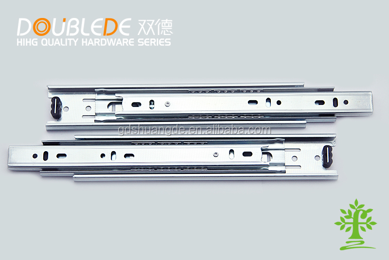 45mm 3-fold Ball Bearing Drawer Slide