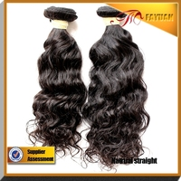 Virgin unprocessed Indian hair extensions from India real human hair extensions for black women