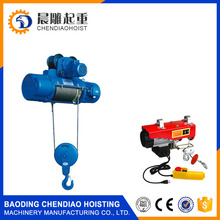 Professional Crane Parts Small Electric Wire Rope Hoist for sale