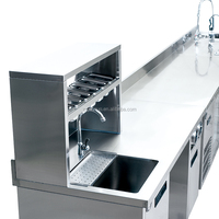 Customize Bar Service Unit Kitchen Stainless