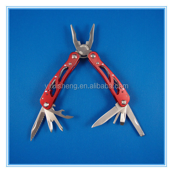 High Quality Aluminum handle Stainless Steel Multi different types of pliers