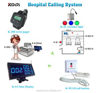 Nurse Call Light Systems for Hospital Clinic Corridor Light Wrist pager Monitor