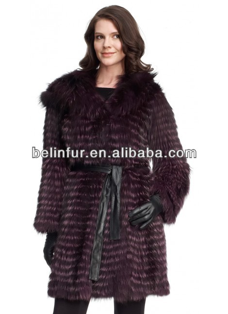 lady's raccoon fur coat 14D96