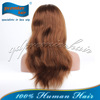 2014 premier wigs natural straight 100% handmade natural color thair lace front human hair wigs white women