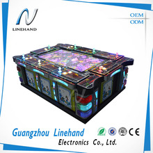 Arcade amusement casino slot game machine fishing game table cabinet from Linehand