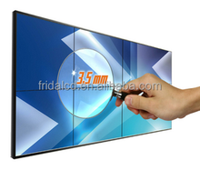 3.5mm seamless lcd video wall 49inch splicing sexy video media player