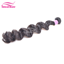 Hot selling virgin unprocessed kids ponytail hair extension
