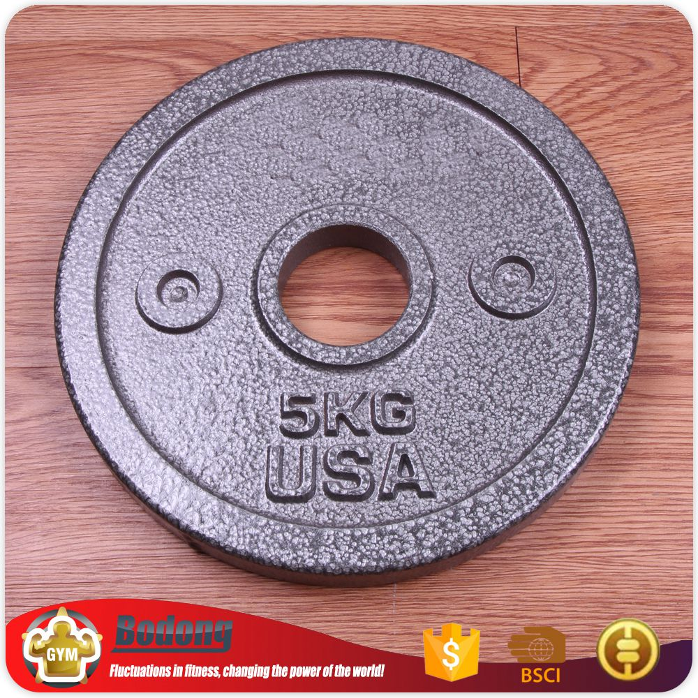 China custom excellent rubber weight plates weight barbell plates