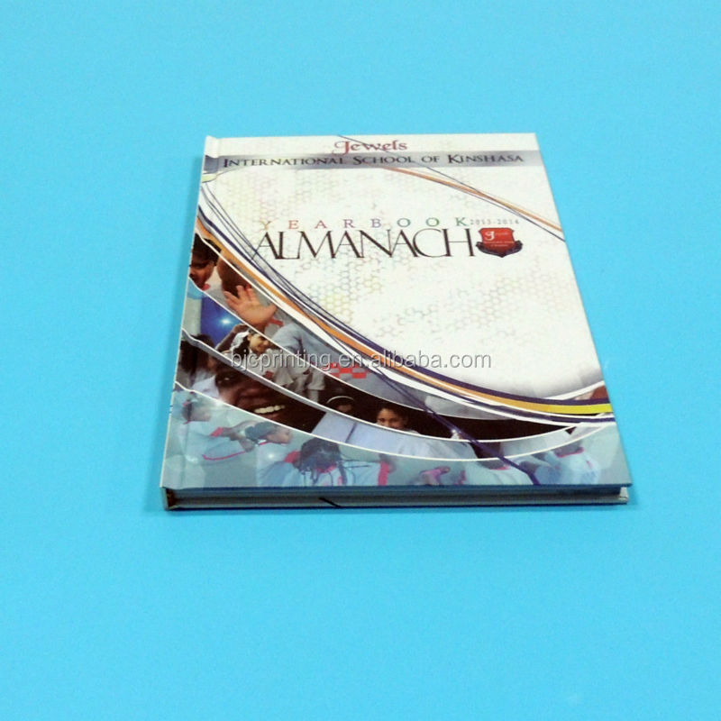 Yearbook printing,poetry book printing,lamination hard cover book printing