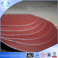 Hook and loop backing polishing disc for wood, metal, stainless steel