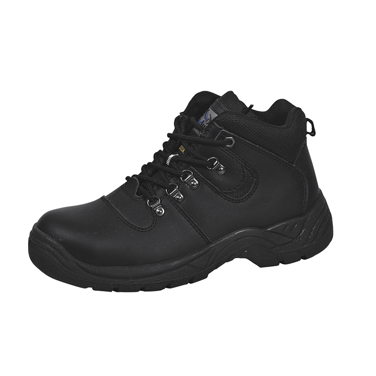 UF-144 New style popular leather safety shoes buffalo leather engineering working shoes