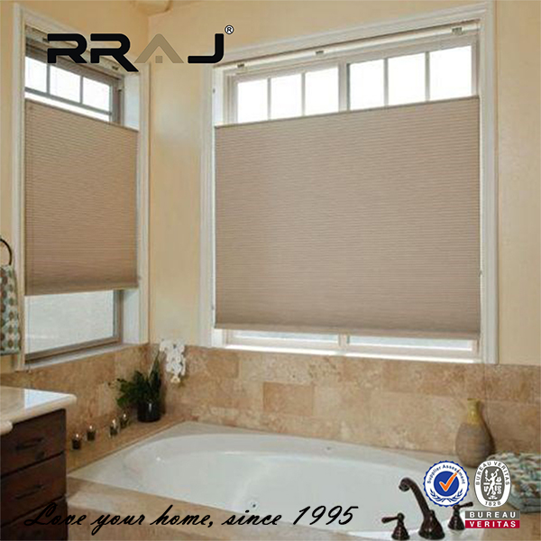 RRAJ customized bottom up honeycomb roller blinds shades shutters for office window