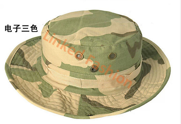 Boonie Hat Camouflage Cap boonie cap fishing hat Outdoor Hunting Fishing Boonie Bucket Camouflage Hat