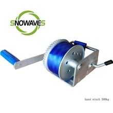 Snowaves ningbo factory capstan rope winch / cable pulling winch / cable puller winch