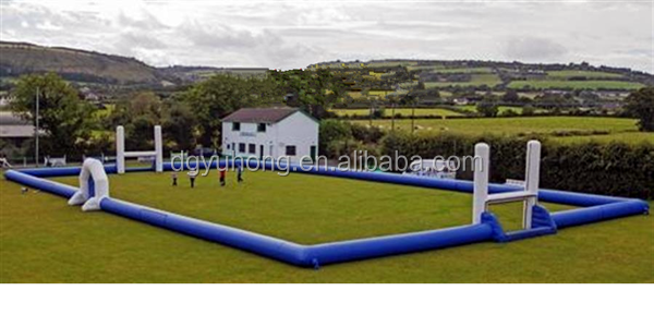 Portable inflatable soccer field inflatable football court for sport