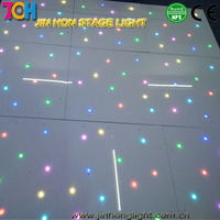 2016 hot selling full color DMX control portable patent flower led dance floor